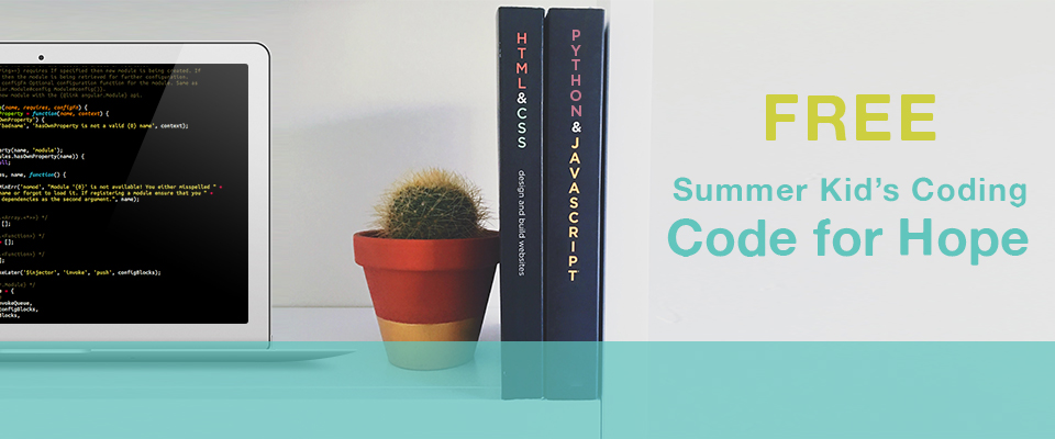 Code for Hope - Summer Kid's Coding